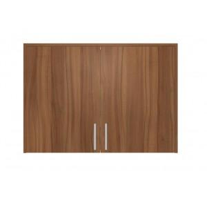 Επιτοίχιο Ντουλάπι Κουζίνας σε χρώμα natural walnut καρυδιά π100*β35*υ72 Ecoline 701
