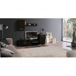 Συνθετα Σαλονιου - Σύνθεση Tv Πάτμος σε χρώμα wenge