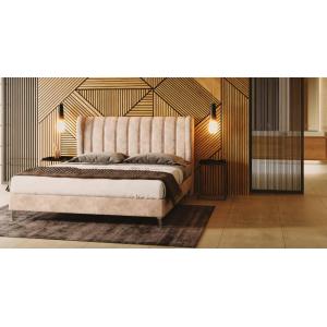 Υφασματινο κρεβάτι Dareios 160*200