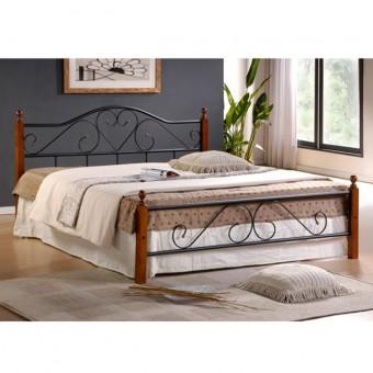 Κρεβάτια Μεταλλικά με Ξύλο