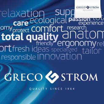 GRECO STROM (Στρώμα-Κρεβάτι-Μαξιλάρι)